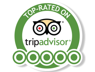 Rated on Trip Advisor